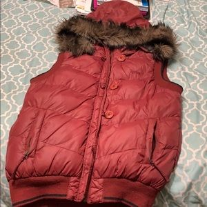 Hurley Vest with removable hood